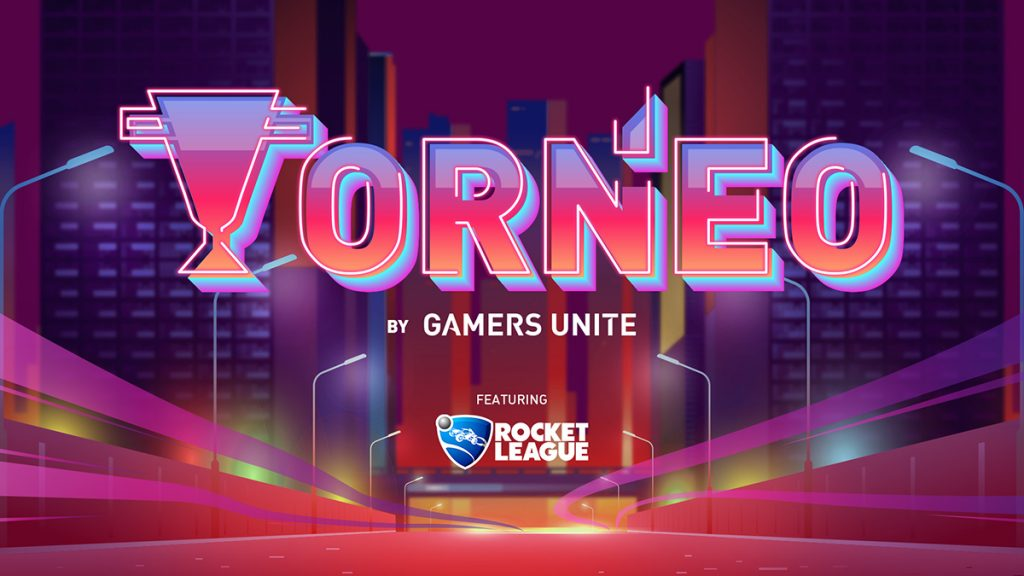 gamers unite, torneo, rocket league