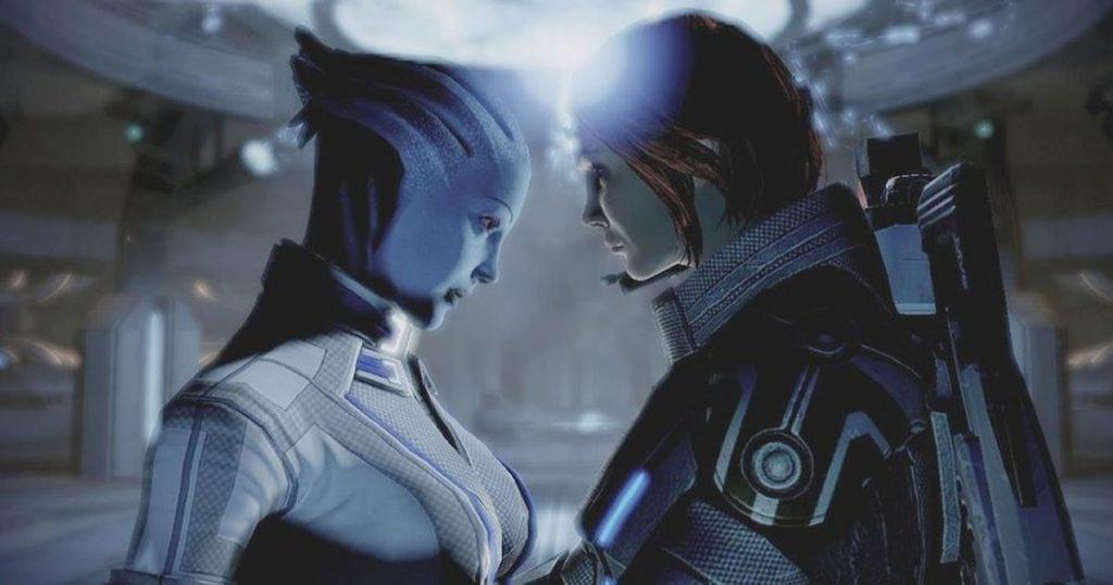 Mass Effect Legendary Edition mod same sex same gender love relationship. Tierragamer