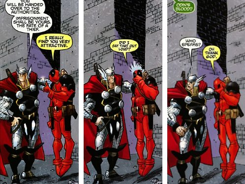 Deadpool Ryan Reynolds comic 2015, pansexual icon. TierraGamer