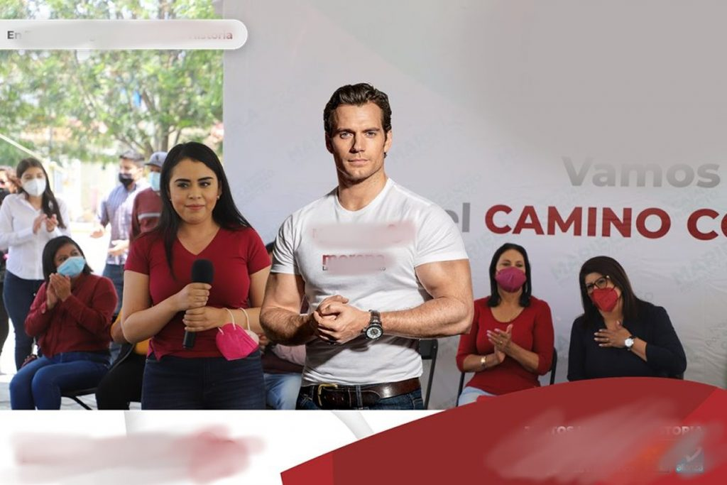 Henry Cavill es usado para campaña política mexicana sin su consentimiento. TierraGamer