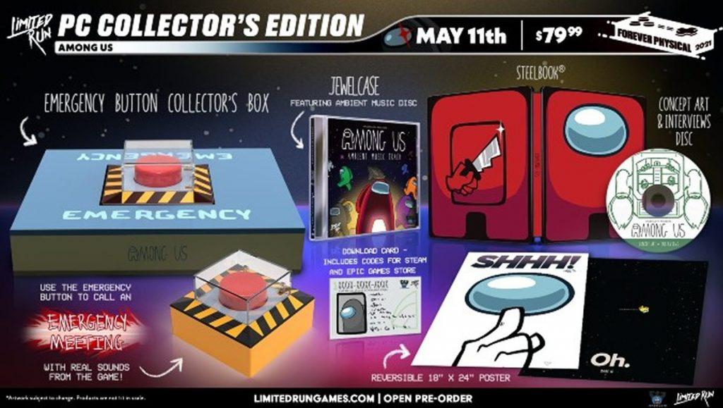 Among us collector's edition disponible del 11 de mayo al 27 de junio. tierragamer