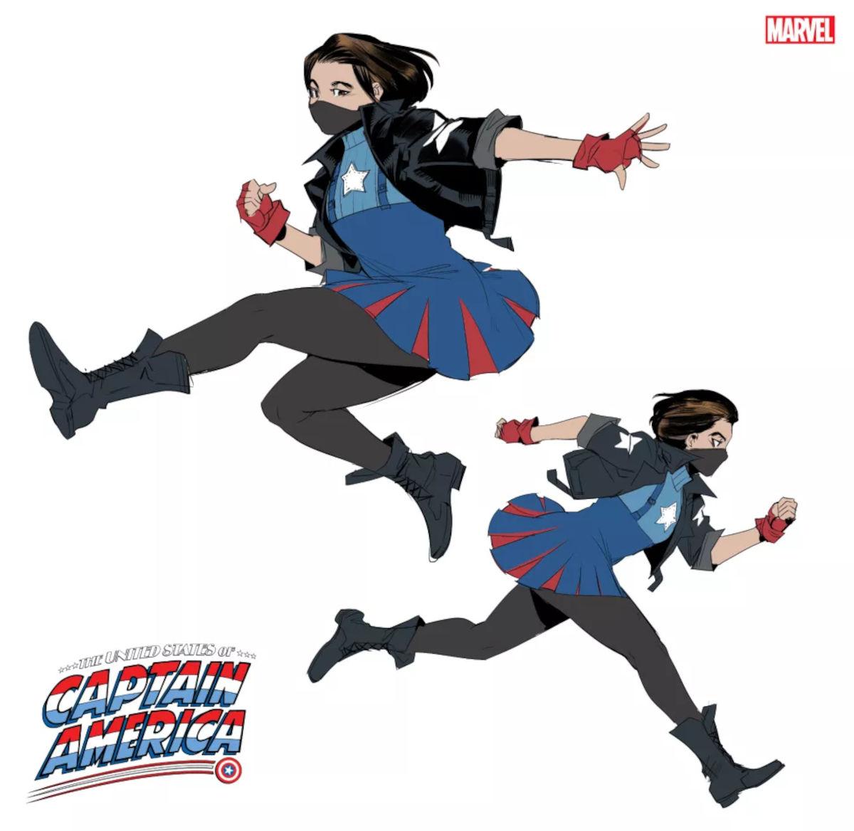Capitán América ahora es una estudiante filipina con el peor nombre posible